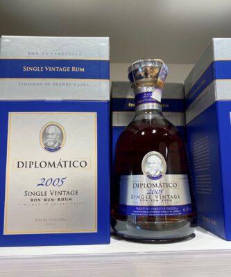 obrázek Diplomatico Single Vintage 2005 12y 43% 0,7 l